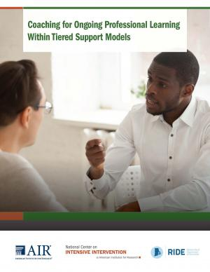 Coaching for Ongoing Professional Learning within Tiered Support Models