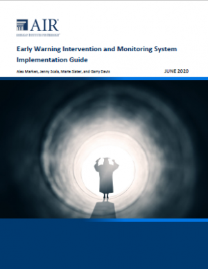 Cover of Early Warning Intervention and Monitoring System Implementation Guide