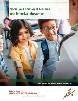 Cover of Social Emotional Learning and Intensive Intervention